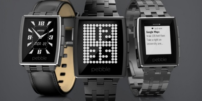 Pebble maintenant compatible Android Wear