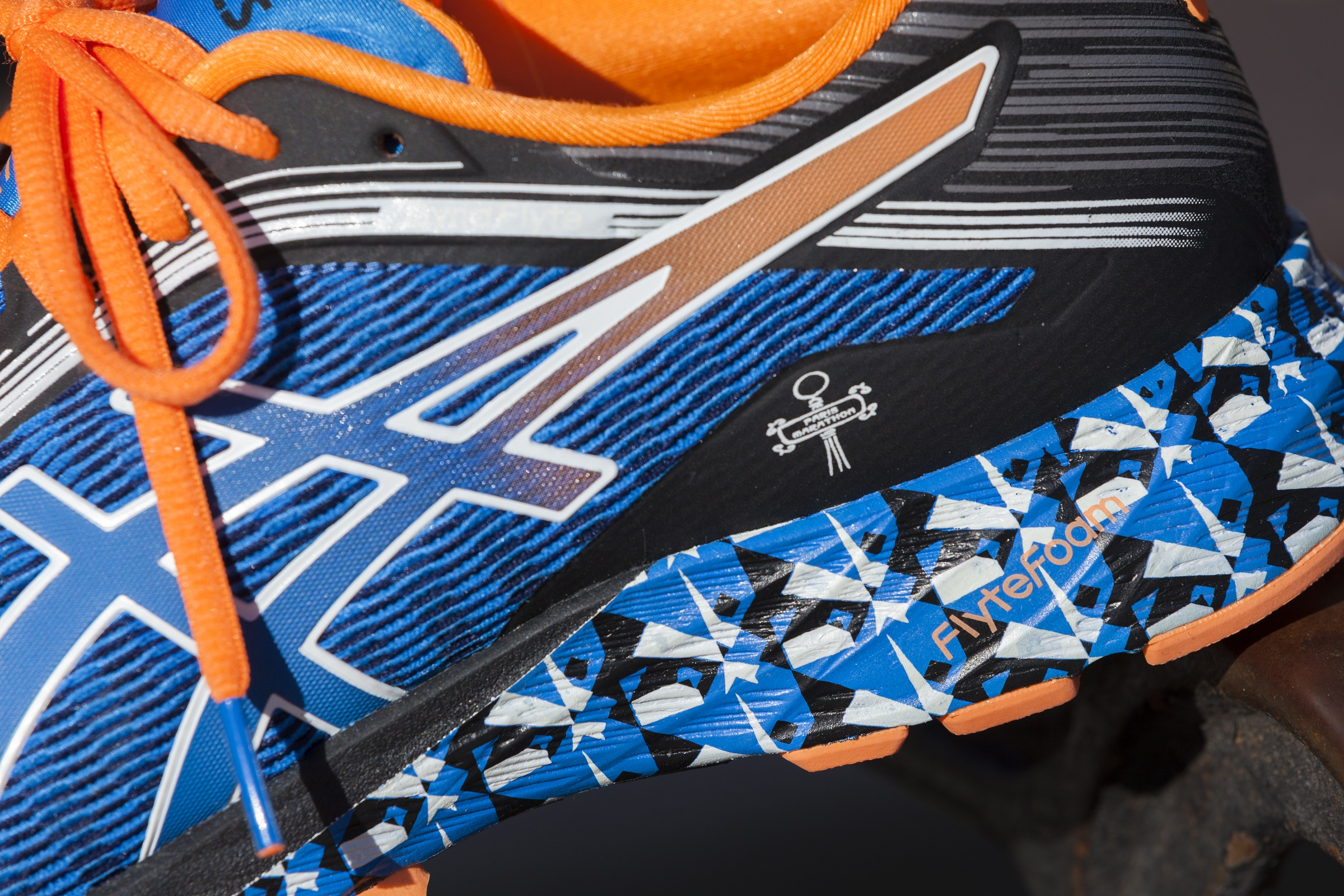 Asics Dynaflyte Paris Marathon limited edition – FrenchFuel