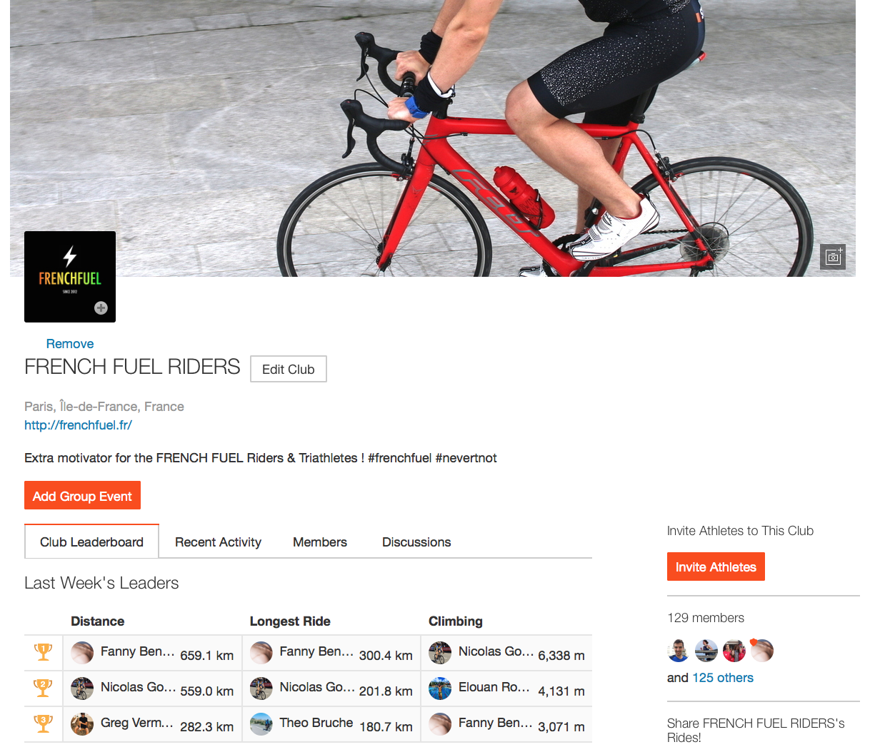 Strava_Frenchfuel_Riders_Home